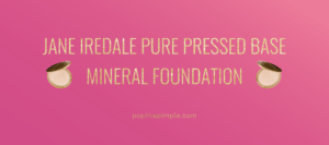 jane iredale pure pressed powder review, warm silk, acne-prone skin, pimples, adult acne, best mineral powder, talc-free